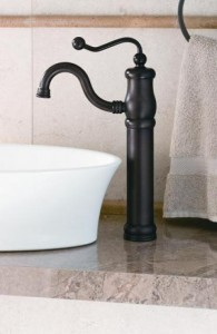 For a Sink that Really Makes a Statement, Consider Sculptural Faucet